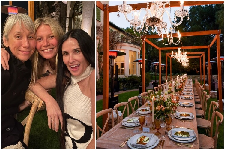 Gwyneth Paltrow No Makeup Party