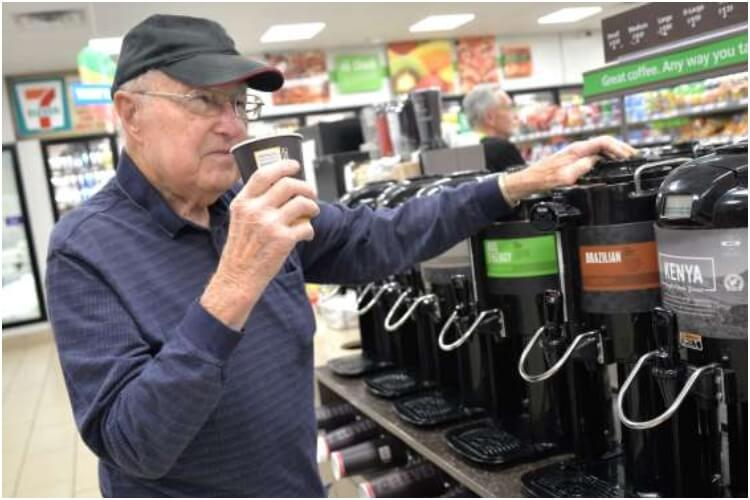 7-Eleven Coffee 95-Year-Old
