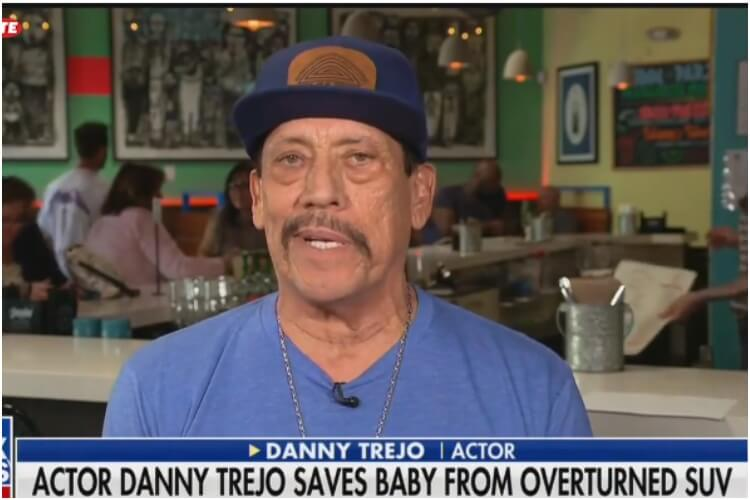 Danny Trejo Saves Baby