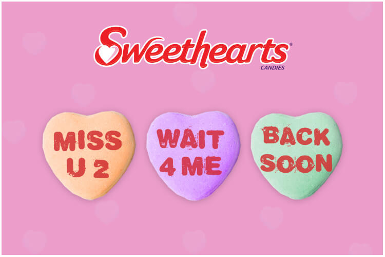 Sweethearts Candy Valentine's Day 2019