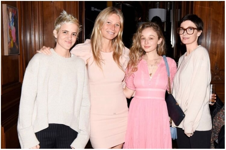 Gwyneth Paltrow Makeup Free Party