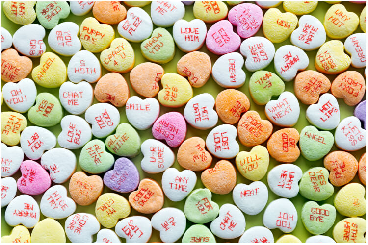 Sweethearts Valentine's Day 2019