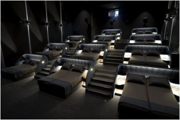 Swiss Movie Theater Beds