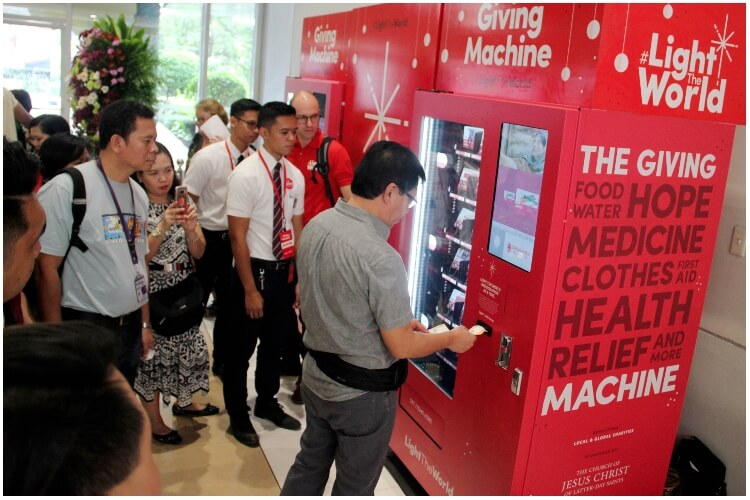 Vending Machines For Charity