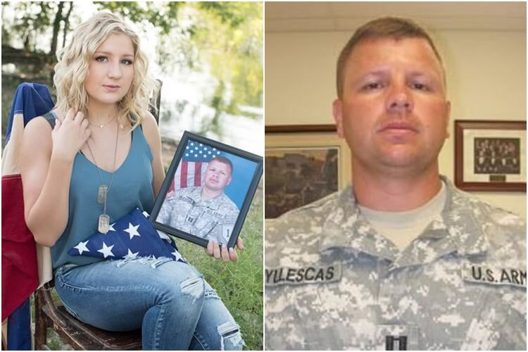 Teen Daughter Honors Veteran Father In Graduation Photos