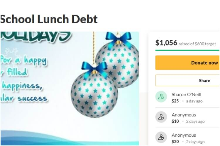 Vermont Lunch Debt Wiped