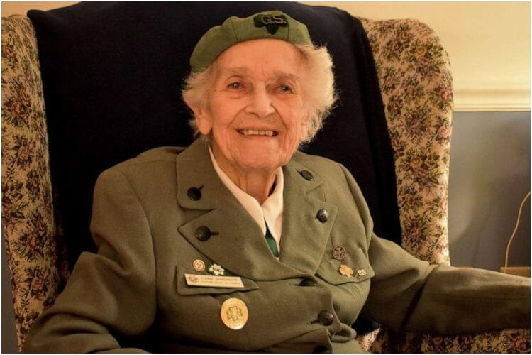 Oldest Girl Scout