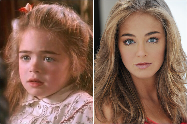 Forgotten Child Stars Amber Scott