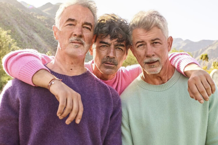 Jonas Brothers FaceApp