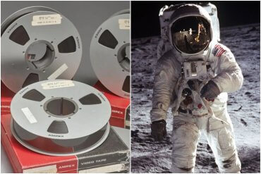 NASA Intern Moon Landing Tapes