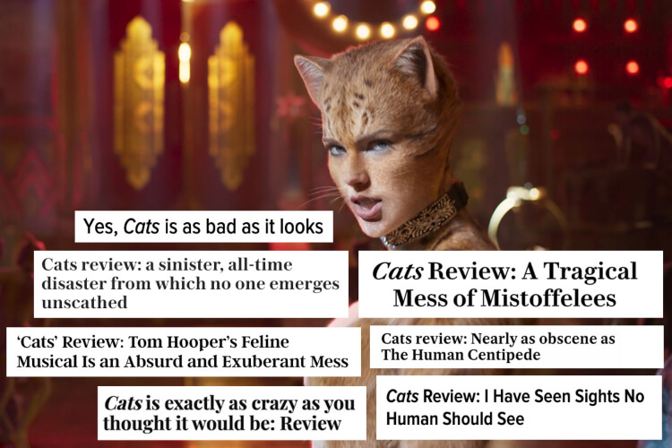 Cats Movie Reviews