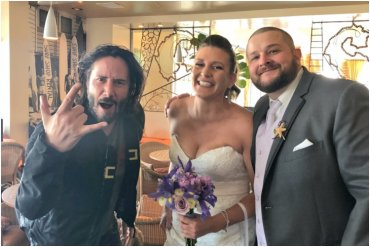Keanu Reeves Wedding
