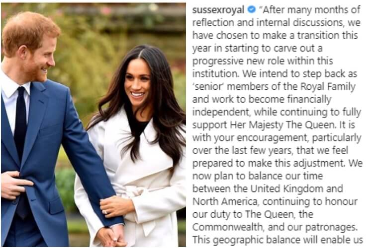 Prince Harry Meghan Markle Leave Royal Family